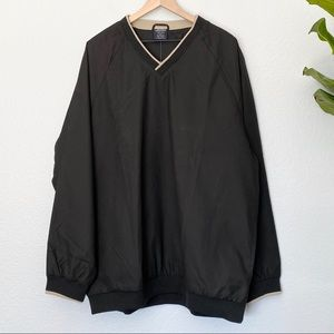 *NEW* CHARLES RIVER Black Windshirt, XL